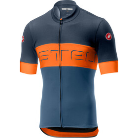 Castelli Prologo VI Jersey Men dark blue/orange/light blue